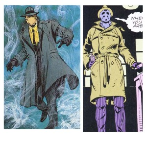 Question on the left, Rorschach on the right